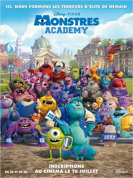 Monstres Academy, tous les concours pour gagner des places de cinéma pour le film