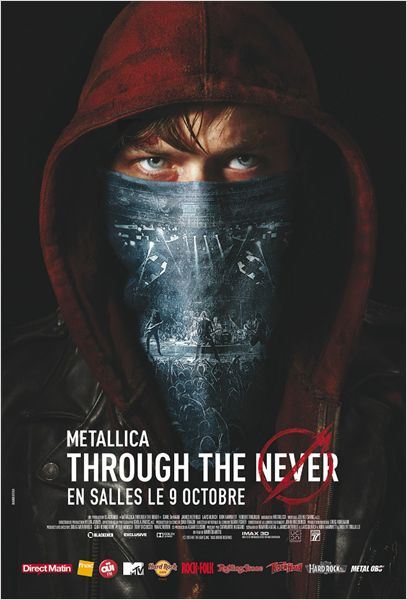Metallica Through the Never, tous les concours