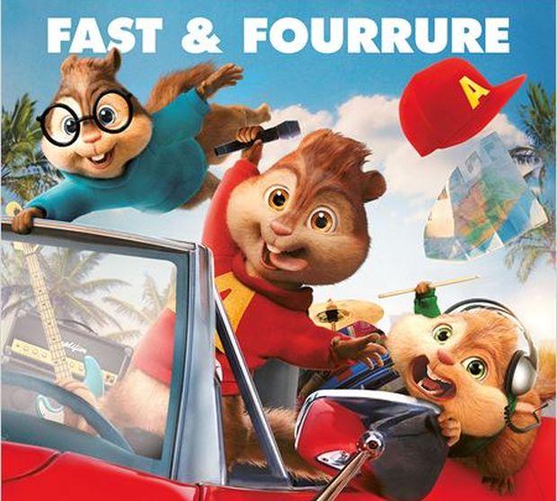 Alvin et les Chipmunks 4 – A fond la caisse