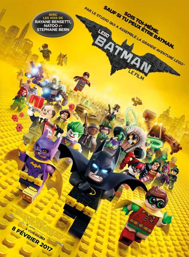 lego batman affiche